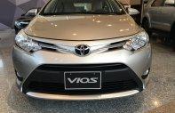 Bán xe Toyota Vios 2018 1.5E MT số sàn, màu bạc, ưu đãi giảm tiền mặt, tặng phụ kiện giá trị, tài trợ 80%, lãi suất tốt giá 493 triệu tại Đồng Nai