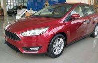 Bán ô tô Ford Focus Titanium 1.5L Ecoboost sản xuất 2018, màu đỏ giá cạnh tranh giá 770 triệu tại Tp.HCM