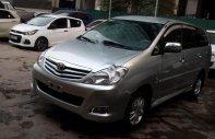 Chính chủ bán xe Toyota Innova G sản xuất năm 2010, màu bạc giá 430 triệu tại Hà Nội