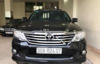 Bán Toyota Fortuner 2.7V 4x4 AT năm sản xuất 2013, màu đen còn mới, giá chỉ 750 triệu giá 750 triệu tại Hà Nội