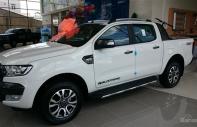 Cần bán Ford Ranger Wildtrack đời 2018, màu trắng, nhập khẩu nguyên chiếc giá 837 triệu tại Hà Nội