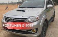 Bán ô tô Toyota Fortuner G năm sản xuất 2015, màu bạc giá 860 triệu tại Hà Nội