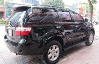 Cần bán gấp Toyota Fortuner 2.7V đời 2011, màu đen xe gia đình giá 530 triệu tại Hà Nội