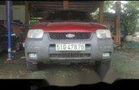 Bán ô tô Ford Escape sản xuất năm 2002, màu đỏ giá 195 triệu tại Tp.HCM