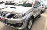 Cần bán xe Toyota Fortuner G năm sản xuất 2014, màu bạc, hỗ trợ tài chính giá 870 triệu tại Tp.HCM