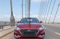 Bán ô tô Hyundai Accent sản xuất 2018 màu đỏ, số tự động 499tr, LH: 0947.647.688 giá 499 triệu tại Hà Nội
