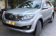 Bán ô tô Toyota Fortuner 2.7V 4x2 AT 2013, màu bạc số tự động, 710tr giá 710 triệu tại Tp.HCM