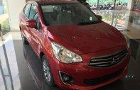 Cần bán Mitsubishi Attrage MT ECO năm 2018, màu đỏ, giá 410tr giá 410 triệu tại Tp.HCM