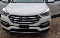 Bán Hyundai Santa Fe 2.2 AT sản xuất năm 2016, màu trắng giá 1 tỷ 65 tr tại Hà Nội