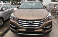 Cần bán xe Hyundai Santa Fe 2.2 đời 2018, màu nâu giá 1 tỷ 70 tr tại Hà Nội