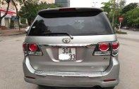 Chính chủ bán Toyota Fortuner 2.5G đời 2015, màu bạc giá 855 triệu tại Hà Nội