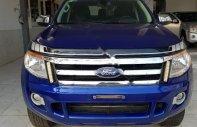 Cần bán Ford Ranger XLT 2.2L 4x4 MT đời 2014, màu xanh lam, nhập khẩu nguyên chiếc  giá 535 triệu tại Gia Lai