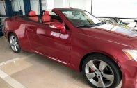 Cần bán gấp Lexus IS 250C đời 2010, màu đỏ, nhập khẩu chính chủ giá 1 tỷ 200 tr tại Tp.HCM