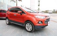Bán ô tô Ford EcoSport Titanium 1.5 AT sản xuất năm 2017, màu đỏ giá 594 triệu tại Hà Nội