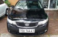 Bán Kia Forte SLI 2010, màu đen, xe nhập chính chủ giá 375 triệu tại Hải Phòng