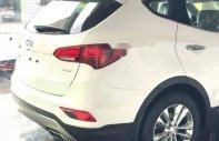 Bán Hyundai Santa Fe năm sản xuất 2018, màu trắng, giá tốt giá 1 tỷ 70 tr tại Đà Nẵng