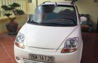 Cần bán xe Chevrolet Spark sản xuất 2010, màu trắng giá 110 triệu tại Hải Phòng