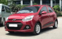 Tứ Quý Auto bán Hyundai Grand i10 1.2 AT sản xuất năm 2016, màu đỏ giá 379 triệu tại Hà Nội