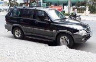 Cần bán gấp Ssangyong Musso sản xuất năm 2005, màu đen, giá tốt giá 200 triệu tại Đà Nẵng
