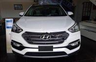 Cần bán xe Hyundai Santa Fe đời 2018, màu trắng giá 1 tỷ 10 tr tại Hà Nội