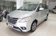 Cần bán Toyota Innova 2.0G năm 2016, màu bạc giá 640 triệu tại Tp.HCM