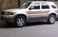Bán Ford Escape 3.0 AT đời 2004, màu vàng cát giá 220 triệu tại Hà Nội
