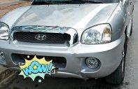 Bán Hyundai Santa Fe 2004, màu bạc, nhập khẩu chính chủ, giá tốt giá 270 triệu tại Thanh Hóa