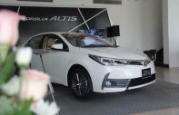 Toyota Nha Trang bán Toyota Corolla 1.8G sản xuất 2018, màu trắng, hỗ trợ ngân hàng giá 753 triệu tại Khánh Hòa