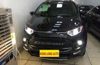 Bán Ford EcoSport Titanium 1.5AT đời 2017, màu đen giá 589 triệu tại Hà Nội