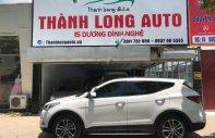Bán Hyundai Santa Fe 2.2 diesel sản xuất năm 2016, màu trắng giá 1 tỷ 60 tr tại Hà Nội