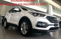 Hyundai Sơn Trà cần bán Hyundai Santa Fe đời 2018, màu trắng, xe nhập 3 cục Hàn Quốc, giá 898tr giá 898 triệu tại Đà Nẵng
