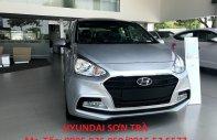 Hyundai Sơn Trà cần bán xe Hyundai Grand i10 Sedan số sàn đời 2018, chuyên chạy Grap dịch vụ giá 390 triệu tại Đà Nẵng