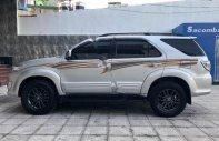 Bán Toyota Fortuner 2.7V 4x4 AT sản xuất năm 2015, màu bạc xe gia đình, giá 800tr giá 800 triệu tại Hà Nội