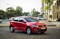 Bán ô tô Volkswagen Polo năm sản xuất 2017, màu đỏ, nhập khẩu, giá tốt, siêu khuyến mãi giá 695 triệu tại Tp.HCM
