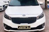 Bán xe Kia Sedona 3.3L GATH năm 2016, màu trắng giá 1 tỷ 200 tr tại Hà Nội
