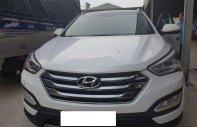 Cần bán xe Hyundai Santa Fe 4WD, 2.2AT đời 2015, màu trắng giá 958 triệu tại Tp.HCM