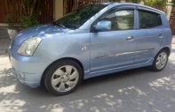 Cần bán gấp Kia Morning SLX 1.0 AT 2007, màu xanh lam, nhập khẩu nguyên chiếc giá 195 triệu tại Hà Nội