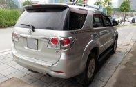 Bán Toyota Fortuner 2.7V sản xuất năm 2013, màu bạc giá 740 triệu tại Hà Nội