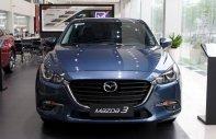 Cần bán xe Mazda 3 1.5 AT 2018, màu xanh, giá chỉ 659 triệu giá 659 triệu tại Tp.HCM