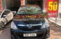 Cần bán lại xe Toyota Innova G đời 2010, màu đen, giá 455tr giá 455 triệu tại Hà Nội
