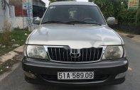 Cần bán gấp Toyota Zace GL sản xuất năm 2005, màu bạc xe gia đình giá 275 triệu tại Tp.HCM