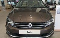 Bán xe Volkswagen Polo Sedan 2018, màu nâu, nhập khẩu - LH 0967.335.988 giá 699 triệu tại Tp.HCM