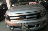 Cần bán lại xe Ford Ranger XL 2.2L 4x4 MT 2014, màu bạc, nhập khẩu giá 455 triệu tại Tp.HCM