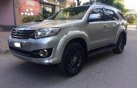 Cần bán Toyota Fortuner 2.5G đời 2015, màu bạc giá cạnh tranh giá 865 triệu tại Hà Nội