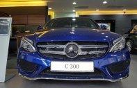 Cần bán xe Mercedes C300 AMG 2018, màu xanh lam giá 1 tỷ 949 tr tại Tp.HCM