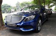 Cần bán xe Mercedes C250 đời 2017, màu xanh lam giá 1 tỷ 680 tr tại Tp.HCM