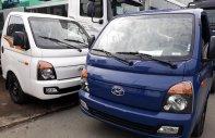 Bán Hyundai Porter mui bạt inox, tải 1.5 tấn, đời 2018, màu xanh lam, nhập khẩu giá 400 triệu tại Tp.HCM