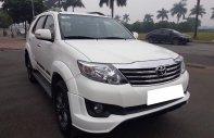Cần bán xe Toyota Fortuner 2.7V Sportivo 2015 màu trắng giá 855 triệu tại Tp.HCM