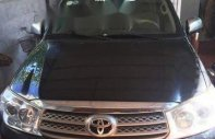 Bán xe Toyota Fortuner đời 2009, màu đen giá 489 triệu tại Hà Nội
