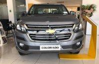 Bán Chevrolet Colorado 2.5 LT AT sản xuất 2018, màu xám, nhập khẩu giá 651 triệu tại Hà Nội